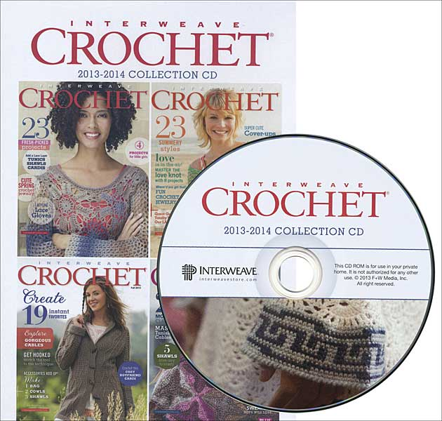 Interweave Crochet 2013-2014 Collection CD