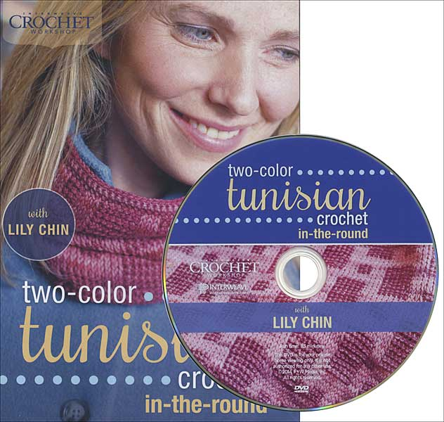 Two-Color Tunisian Crochet in the Round DVD