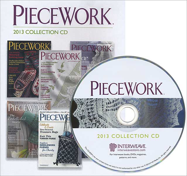 Piecework 2013 Collection CD