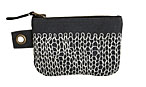 Entwined Small Zipper Pouch