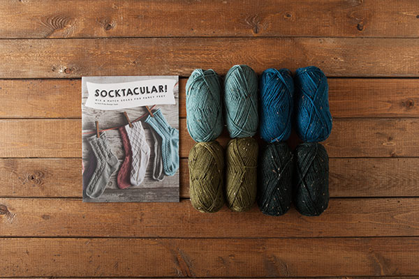 Rustic Tweed Socktacular Kit