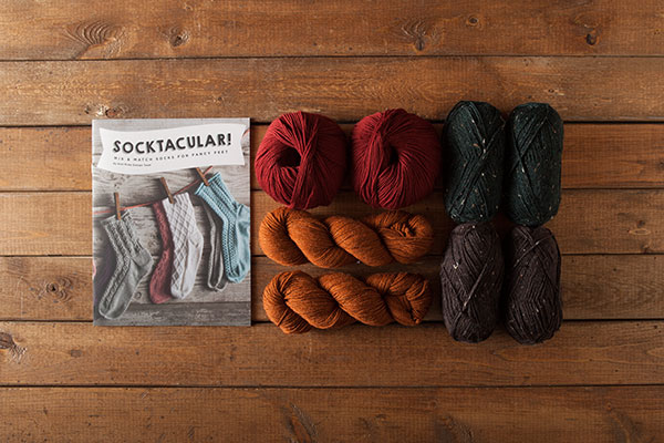 Fall Harvest Socktacular Kit