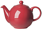 2 Cup Teapot Red