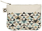 Tessellate Large Zipper Pouch