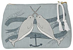 Seven Seas Small Cosmetic Bag