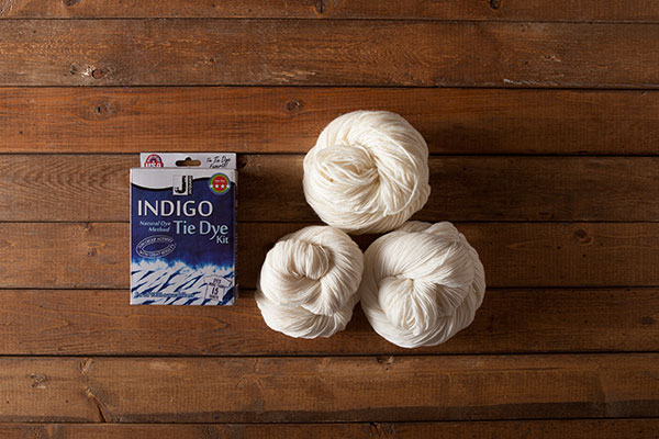 Indigo Dye & Yarn Kit