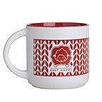 Knit Around Mug - Red
