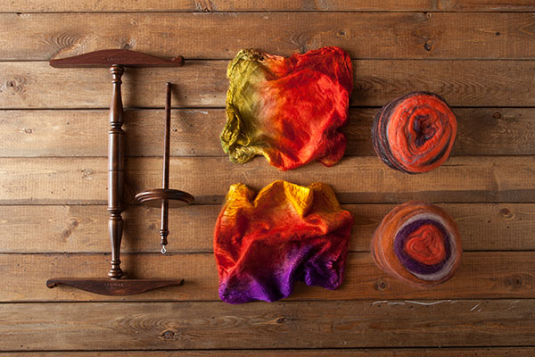 Luxe Drop Spindle Kit - Autumnal