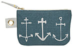 Seven Seas Small Zipper Pouch