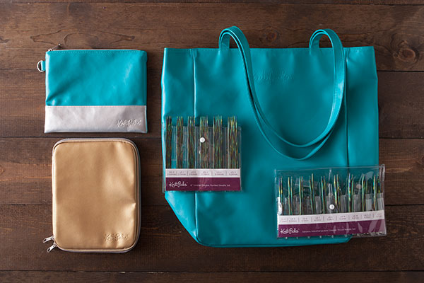 Caspian Accessories Kit - Gold + Teal