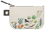 Secret Garden Small Zipper Pouch