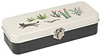 Secret Garden Steel Pencil Case