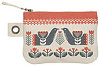 Folklore Small Zipper Pouch