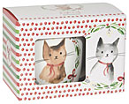 Jingle Cat Mug in a Box -12oz
