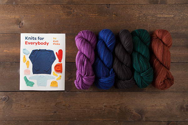 Knits for Everybody Kit - Preciosa Worsted