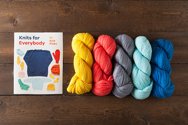 Knits for Everybody Kit - Preciosa Fingering