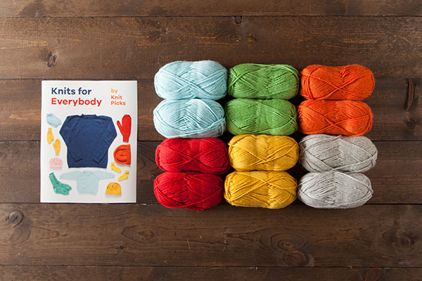 Knits for Everybody Kit - Swish Worsted