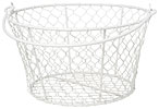 Homestead Basket - White