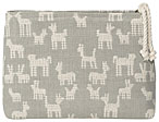 Animal Pack Woven Small Cosmetic Bag