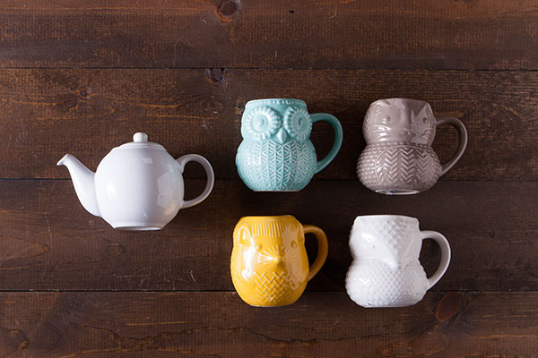 Cutie Critter Tea Set