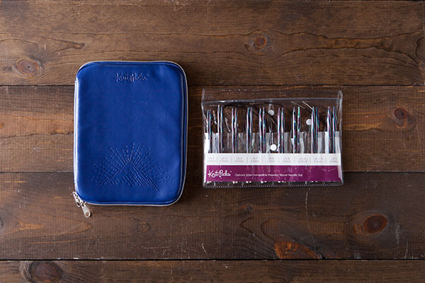 Interchangeable Needle Set and Embossed Case - Majestic