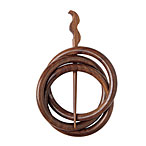 Interlocking Rings Shawl Pin