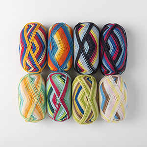 Felici Fingering Self Striping Sock Yarn