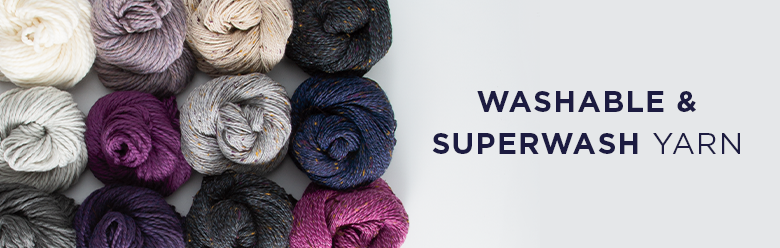 Washable and Superwash Yarns