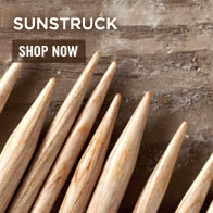 Sunstruck Wood Knitting Needles
