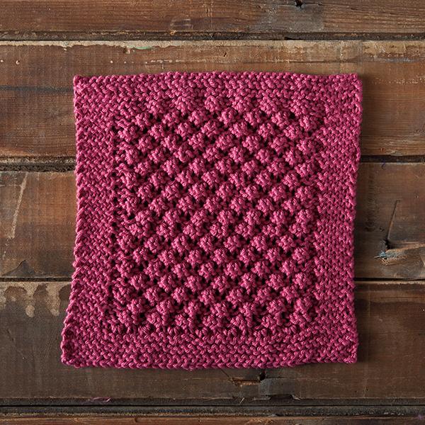 Knit a Loganberry Dishcloth