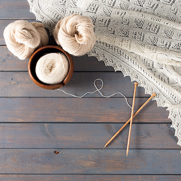 How to Use a Lifeline for Lace Knitting
