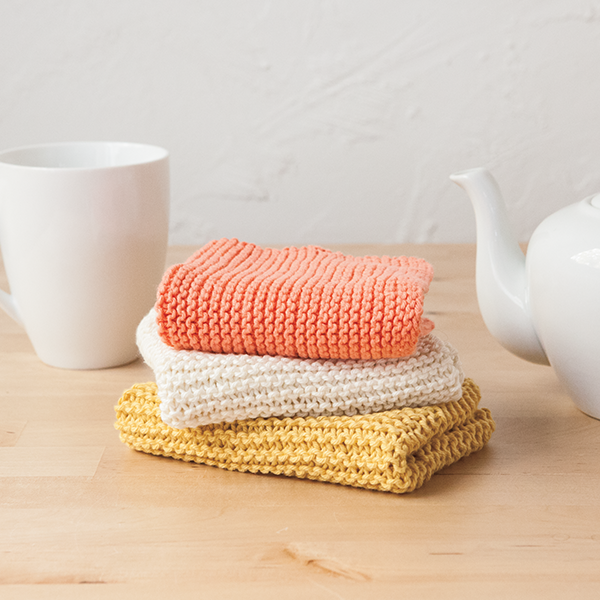Learn to Knit Club: Dishcloth