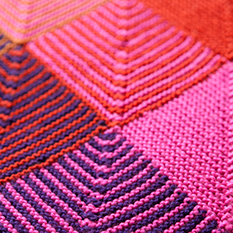 Knit a Mitered Square