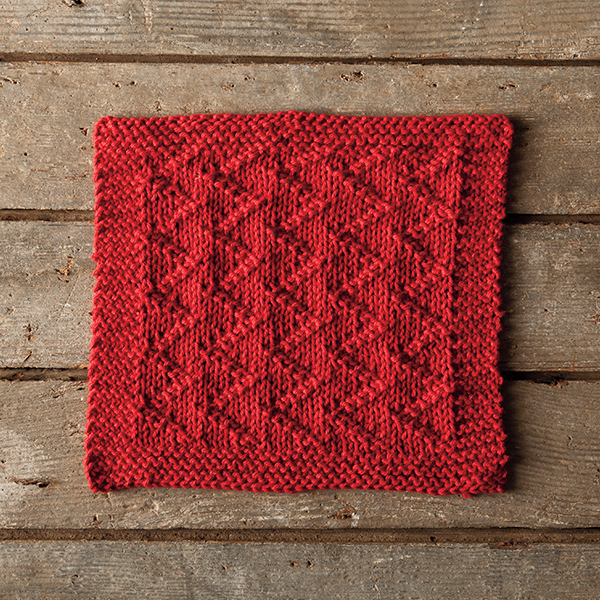 Knit a ZickZack Dishcloth