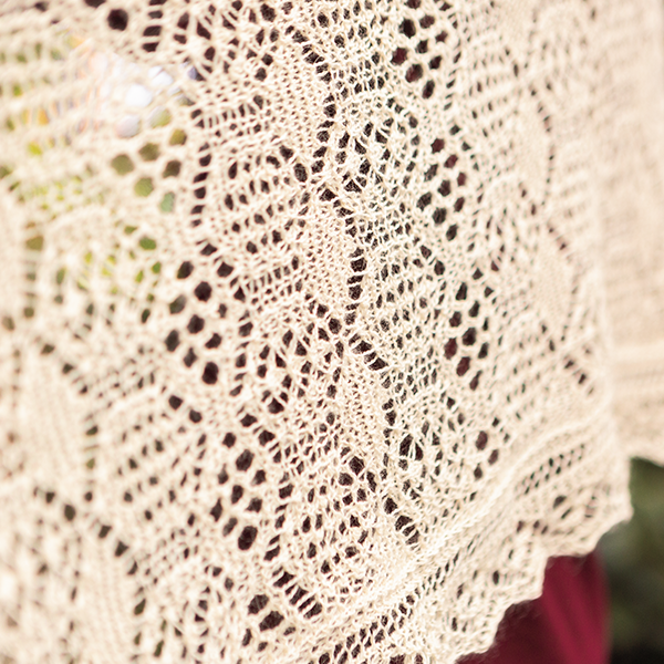 Using Lifelines and Stitch Markers in Lace Knitting with Geoff