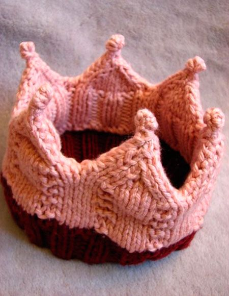 Loved Crown Pattern Knitting Patterns And Crochet Patterns From