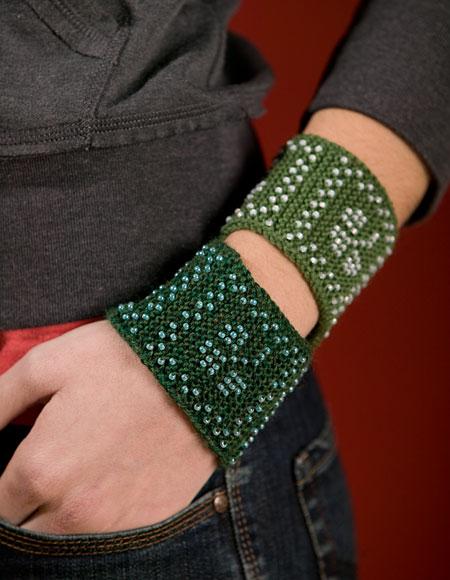 Beaded Shamrock Friendship Bracelet Pattern Knitting Patterns And