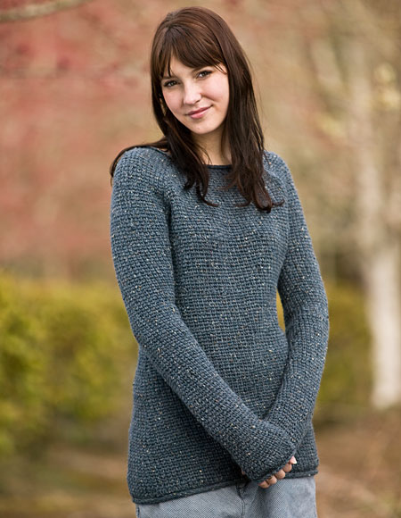 Comfy Boyfriend Crochet Sweater Pattern - Knitting Patterns and ...
