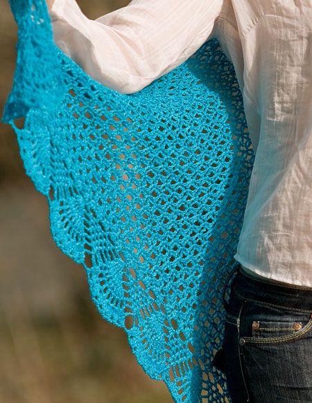 Dreams Lace Crochet Shawl Knitting Patterns And Crochet Patterns