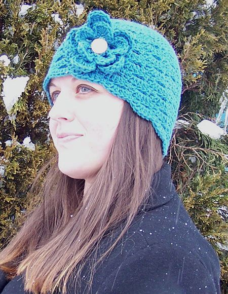 On The Go Cloche Crochet Hat - Knitting Patterns and Crochet ...