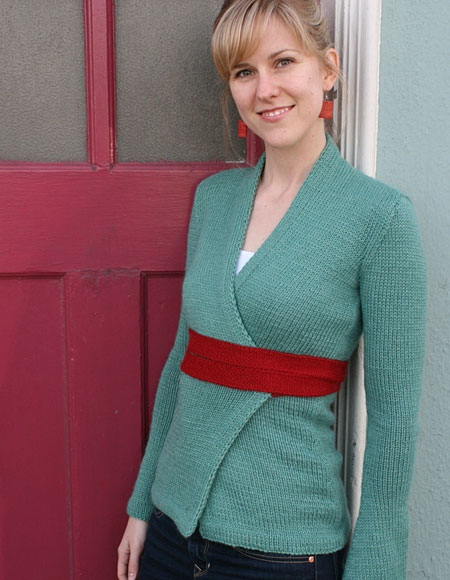 Kimono Wrap Cardigan Knitting Patterns And Crochet Patterns From