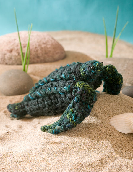 Mbé The Leatherback Sea Turtle Crochet Toy Knitting Patterns And Impressive Crochet Turtle Pattern