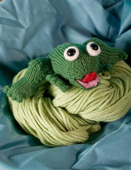 Mark Twains Jumping Frog Knitting Patterns And Crochet Patterns
