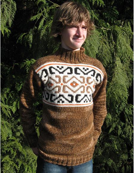 Birch Bay Mens Sweater Knitting Patterns And Crochet Patterns