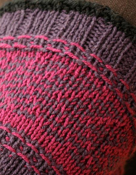 Adipose Knitting Pattern : Herringbone Slip Stitch Socks - Knitting Patterns and Crochet Patterns from K...