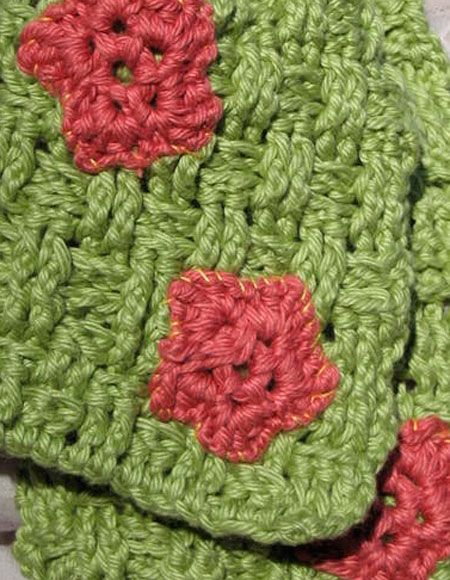 Basketweave Spring Crochet Scarf Pattern Knitting Patterns And