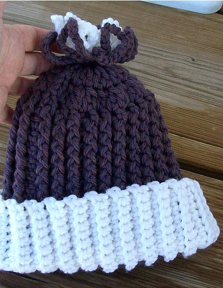 Knitting Pattern For Frozen Hat : Frozen Flower Crochet Baby Hat - Knitting Patterns and Crochet Patterns from ...
