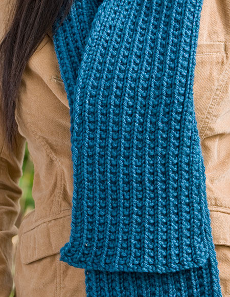 Farrow Rib Hat Scarf Set Knitting Patterns And Crochet Patterns