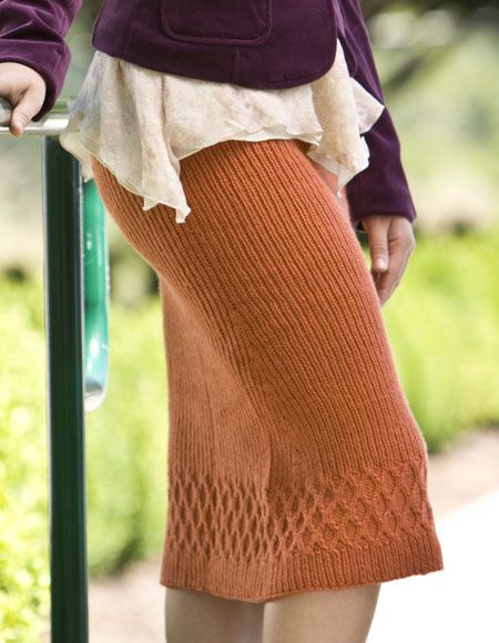 Althea Skirt - Knitting Patterns and Crochet Patterns from ...