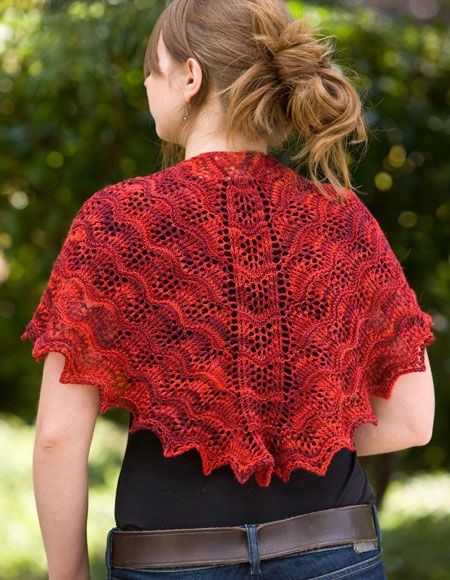 Miss Marys Shoulder Shawl - Knitting Patterns and Crochet Patterns from ...